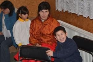anya ülve, gyerekekkel