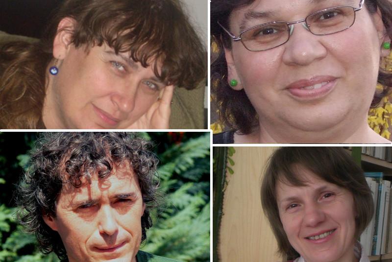 Kik vagyunk? Mógáné Aradi Csilla, Kristonné Kunicz Mária, Lelovics Béla, Mohayné Farkas Ibolya.